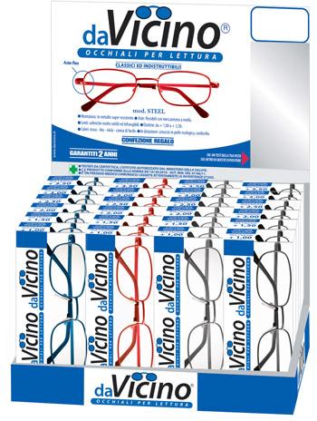 La linea davicino jolly two di occhiali da lettura for Design basso costo