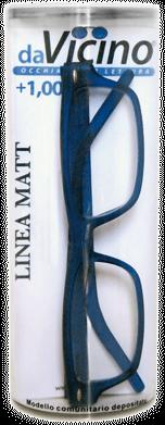 La linea davicino matt di occhiali da lettura premontati for Design basso costo